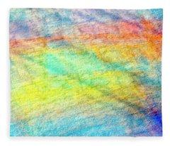 Map Of The Universe Fleece Blanket
