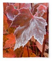 Maple Frost  Fleece Blanket