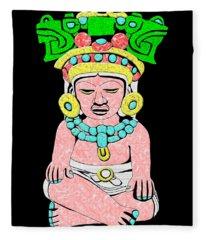 Marble Maya Fleece Blanket