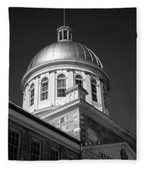 Marche Bonsecours  Fleece Blanket