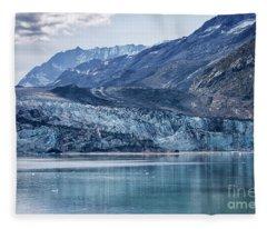 Margerie Glacier Fleece Blanket
