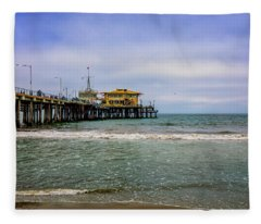 Mariasol On The Pier Fleece Blanket