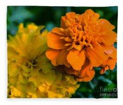 Marigold 1 Fleece Blanket