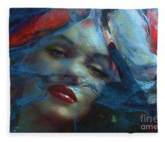 Marilyn 128 A 4 Fleece Blanket