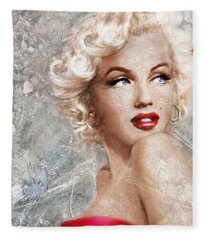 Marilyn Danella Ice Fleece Blanket