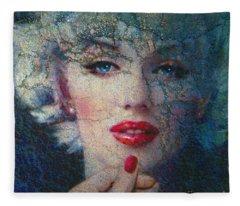 Marilyn Monroe 132 A Fleece Blanket