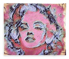 Marilyn Monroe Fleece Blanket
