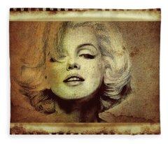Marilyn Monroe Star Fleece Blanket