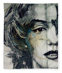 Marilyn Monroe - Wicked Games Fleece Blanket