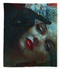 Marilyn St 2 Fleece Blanket