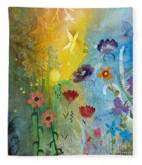 Mariposa Fleece Blanket