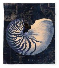 Maritime Blues  Fleece Blanket