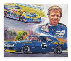 Mark Donohue Racing Fleece Blanket
