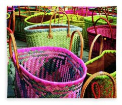 Market Baskets - Libourne Fleece Blanket