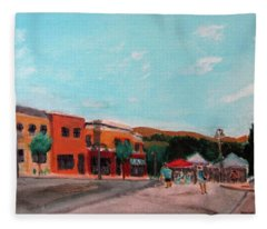 Market Day Fleece Blanket