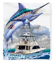 Marlin Commission  Fleece Blanket