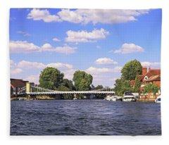 Marlow Bridge Fleece Blanket