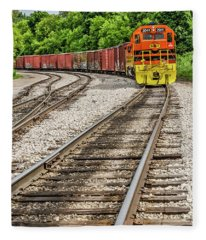 Marquette Rail Carrier Fleece Blanket