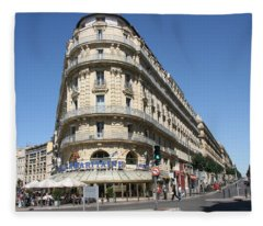 Marseille, France Fleece Blanket