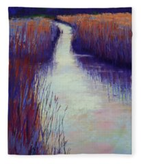 Marshy Reeds Fleece Blanket