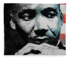 Martin Luther King Jr- I Have A Dream  Fleece Blanket