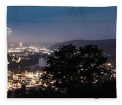 Martins Ferry Night Fleece Blanket