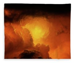 Marvelous Clouds Fleece Blanket