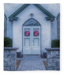 Marvin Chapel Fleece Blanket