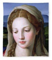 Mary Fleece Blanket