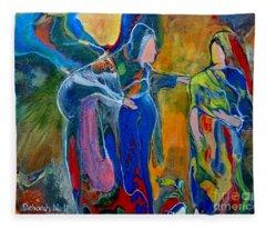 Mary And Elizabeth Fleece Blanket