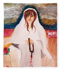 Mary Magdalene  Fleece Blanket