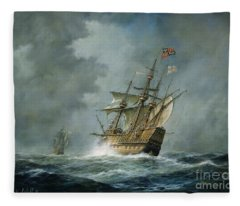 Mary Rose  Fleece Blanket