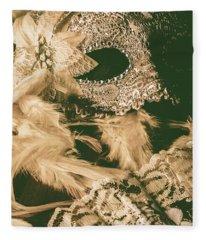 Masking A Playwright Fleece Blanket
