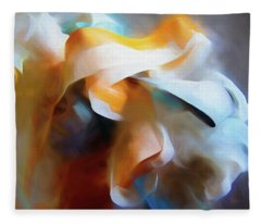 Masking Tape And Paint Composition Fleece Blanket