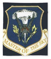 Master Of The Sky Fleece Blanket