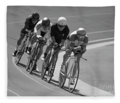 Masters Competition Team Pursuit Fleece Blanket