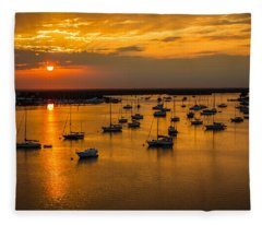 Matanzas Harbor Fleece Blanket