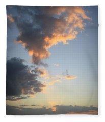 Matanzas Sunset Fleece Blanket