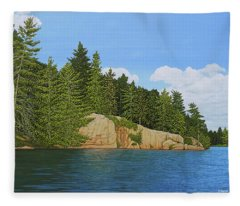 Matthew's Paddle Fleece Blanket