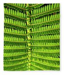 Maui Fern Garden Fleece Blanket