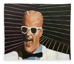 Max Headroom Fleece Blanket