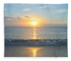 May 23 Sunrise Fleece Blanket