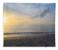 May 28th Sunrise Fleece Blanket