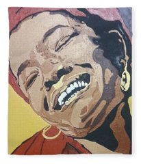 Maya Angelou Fleece Blanket