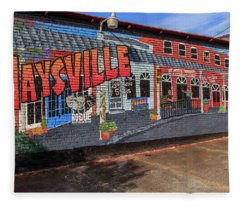 Maysville Mural Fleece Blanket