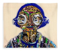 Maz Kanata Star Wars Awakens Afrofuturist Colection Fleece Blanket