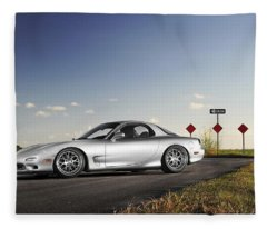 Mazda Rx-7 Fleece Blanket