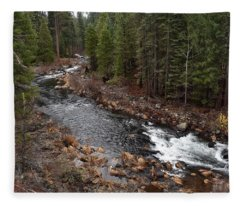 Mccloud River Fleece Blanket