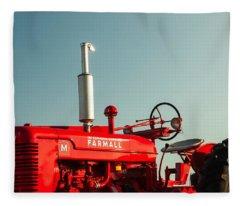 Tractor Fleece Blankets