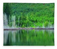 Mcguire Reservoir P Fleece Blanket